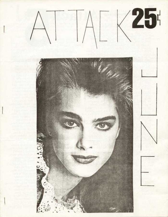 attack fanzine number 5 cover
