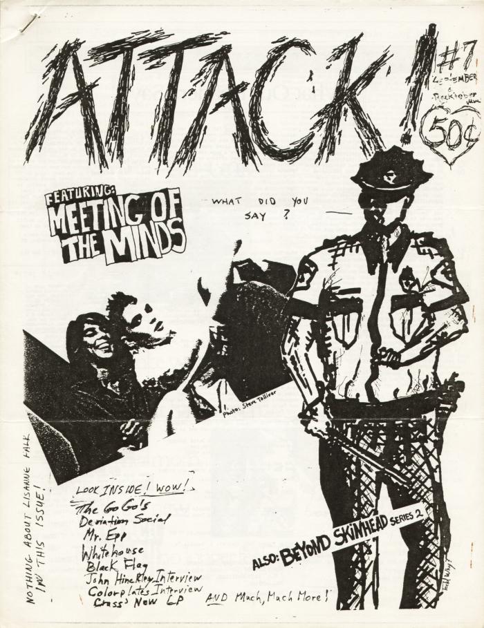attack fanzine number 7 cover