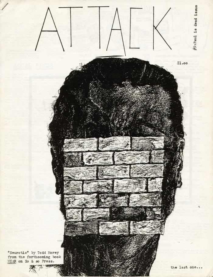 attack fanzine number 9 cover