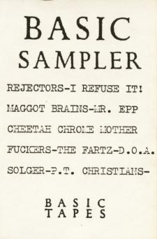 basic sampler