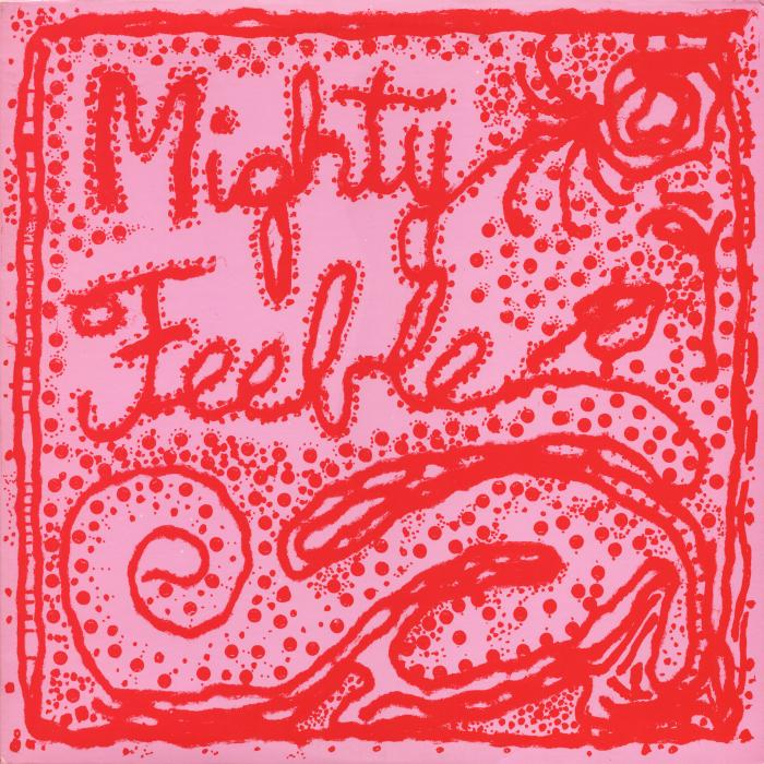 mighty feeble front cover