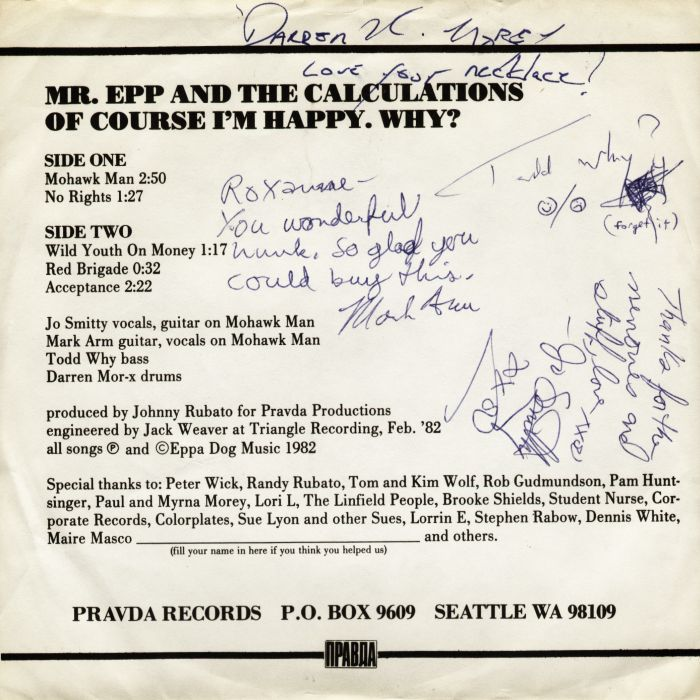 mr epp of course i'm happy, why? back cover