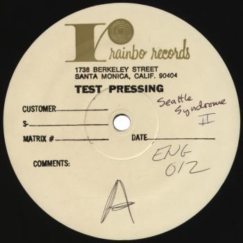 seattle syndrome 2 test press