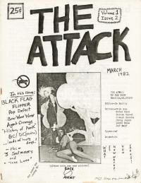 attack fanzine number 2 cover