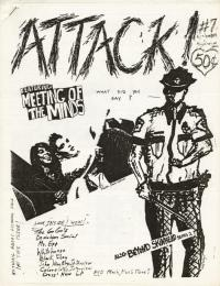 attack fanzine number 7 cover