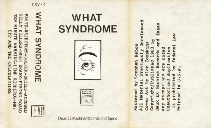 what syndrome advertisement