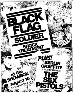 black flag flyer