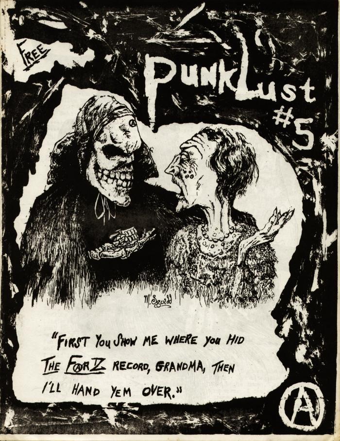 punk lust fanzine number 5 cover
