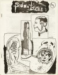 punk lust fanzine number 6 cover