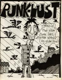 punk lust fanzine number 8 cover