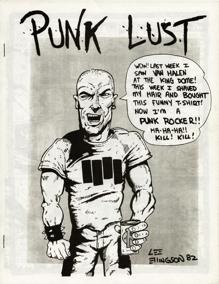 punk lust fanzine number 11 cover