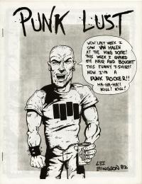 punk lust and dybbuk fanzine number 11 cover