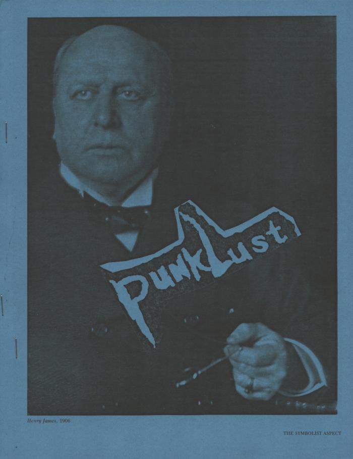 punk lust fanzine number 18 cover