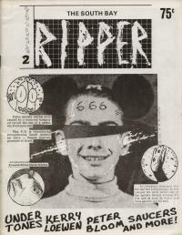 ripper fanzine number 2 cover