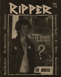 ripper fanzine number 4 cover