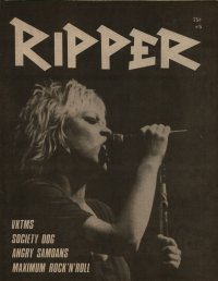ripper fanzine number 5 cover