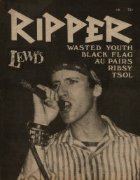 ripper fanzine number 6 cover