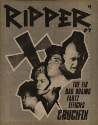 ripper fanzine number 7 cover