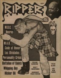 ripper fanzine number 8 cover