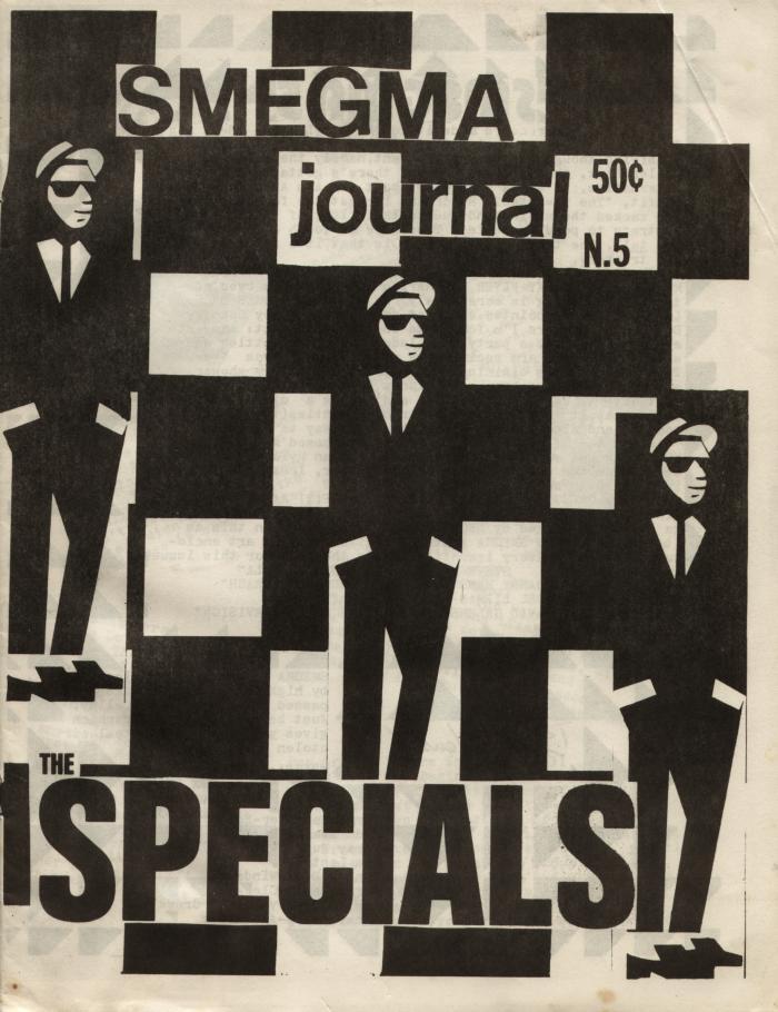 smegma fanzine number 5 cover