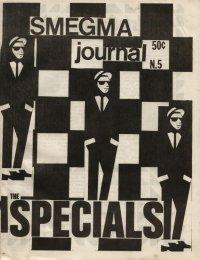 smegma journal fanzine number 5 cover