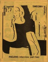 smegma journal fanzine number 6 cover