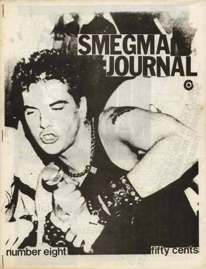 smegma fanzine number 8 cover