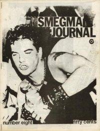 smegma journal fanzine number 8 cover