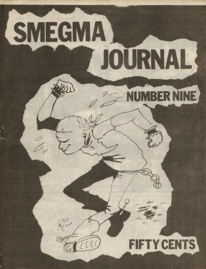 smegma fanzine number 9 cover