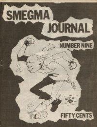 smegma journal fanzine number 9 cover